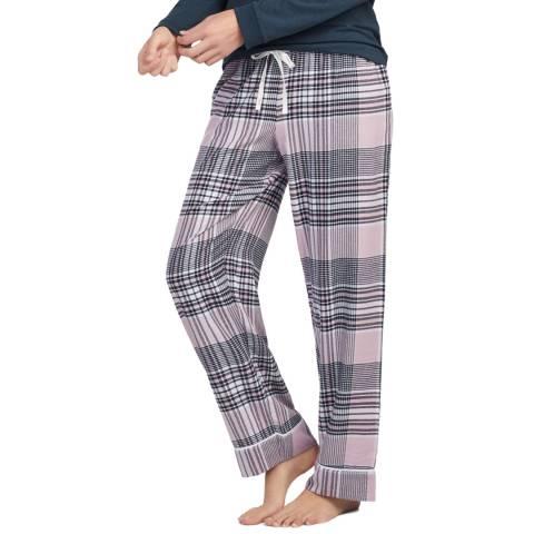DKNY Pink Check Long Pant