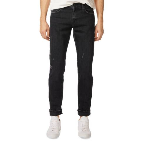 J Brand Navy Tyler Tapered Stretch Jeans