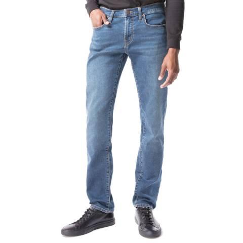 J Brand Light Blue Kane Straight Stretch Jeans