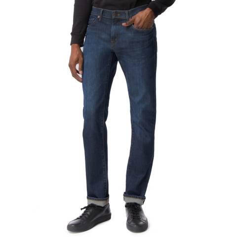 J Brand Blue Denim Kane Straight Stretch Jeans