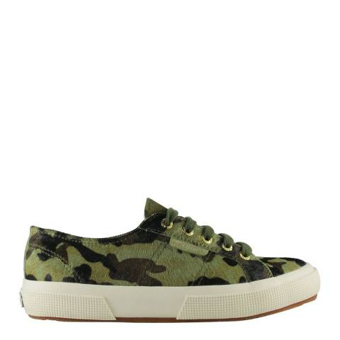 Superga Camouflage 2750 Leahorse Sneakers