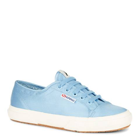 Superga Blue 2492 Satin Sneakers