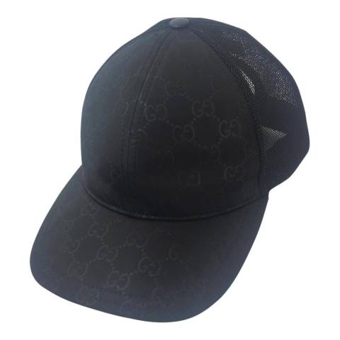 Gucci Black Gucci Monogram Hat