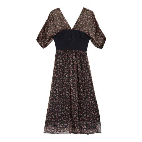 ALEXA CHUNG Multi Bella Bodice Dress