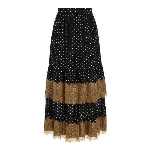 ALEXA CHUNG Black Petticoat Skirt