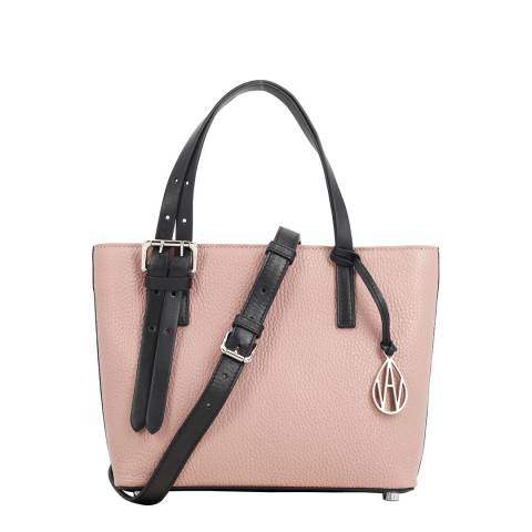 Amanda Wakeley Cipria Mini Dean Leather Bag