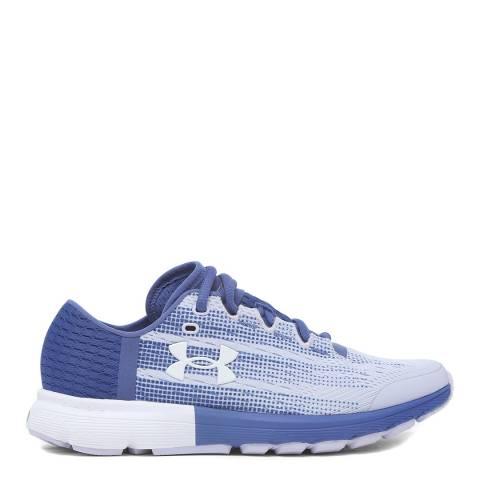 Under Armour Blue UA Speedform Velociti  Sneaker