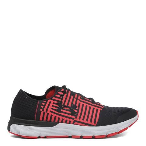 Under Armour Black Red UA Speedform Gemini Sneaker
