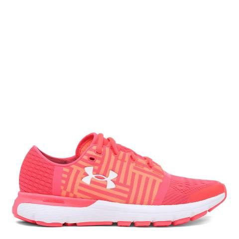 Under Armour Pink UA Speedform Gemini Sneaker