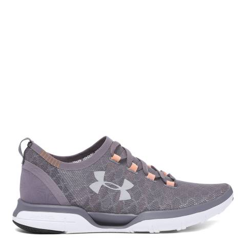Under Armour Purple UA Charged Coolswitch Running Sneaker