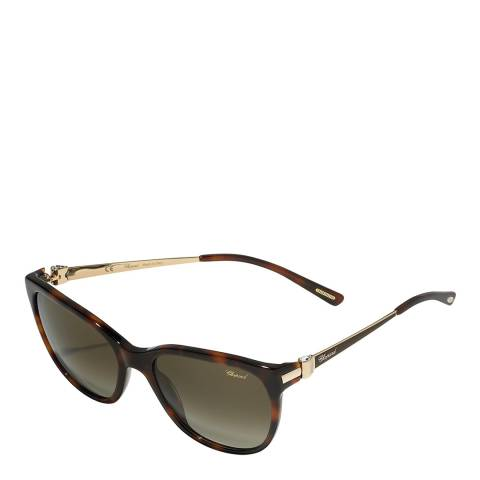 Chopard Women's Brown Chopard Sunglasses 56mm