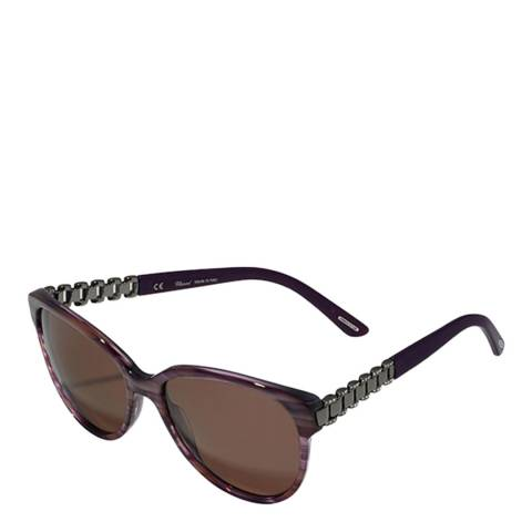 Chopard Women's Burgundy Chopard Sunglasses 57mm