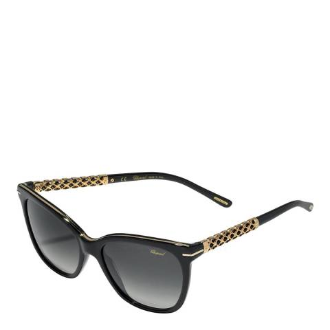 Chopard Women's Brown Lattice Chopard Sunglasses 54mm