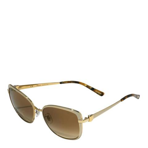 Chopard Women's White/Gold Chopard Sunglasses 57mm