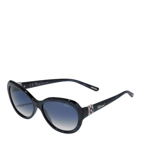 Chopard Women's Dark Blue Chopard Sunglasses 57mm