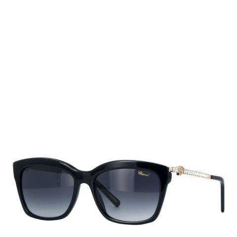 Chopard Women's Black Chopard Crystal Sunglasses 55mm