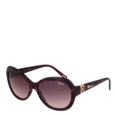 Chopard Women's Brown/Gold Chopard Sunglasses 57mm