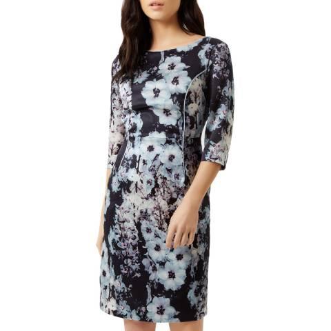 Fenn Wright Manson Multi Bettina Silk Stretch Petite Dress