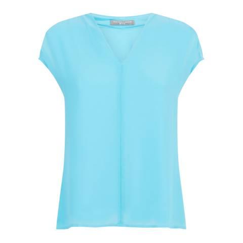 Fenn Wright Manson Turquoise Corfu Top