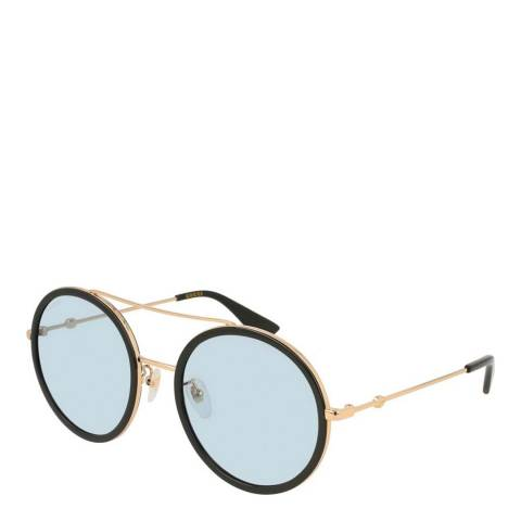 Gucci Women's Gold Shaded Gucci Sunglasses 56mm
