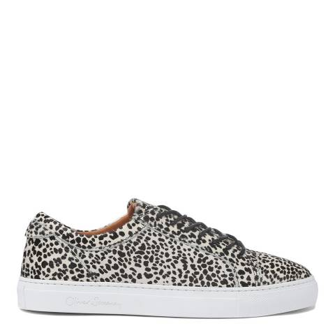 Oliver Sweeney Snow Leopard Textured Vendas Trainers