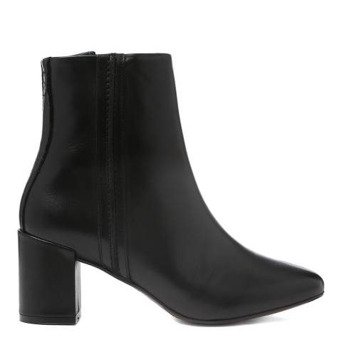 Oliver Sweeney Black Leather Velhote Ankle Boots