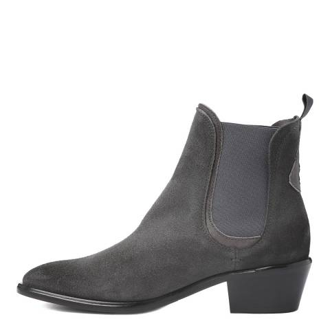Oliver Sweeney Grey Suede Serpa Ankle Boots