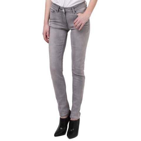 Religion Light Grey Judas Lacrimal Jeans