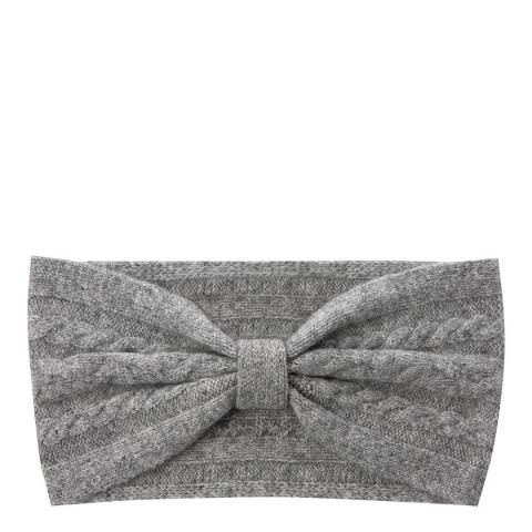 Laycuna London Grey Cashmere Headband
