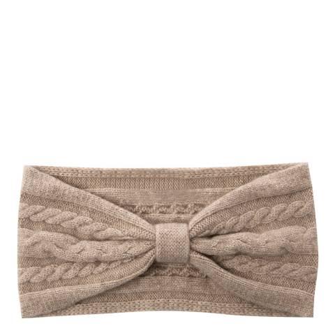 Laycuna London Taupe Cashmere Headband