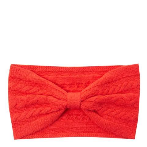 Laycuna London Scarlet Red Cashmere Headband