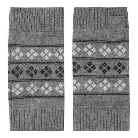 Laycuna London Fair Isle Cashmere Mitten