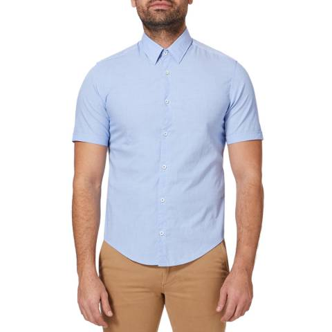 BOSS Blue Bowen Regular Stretch Cotton Shirt