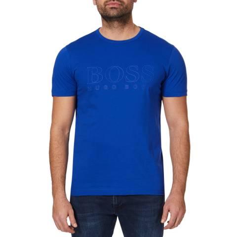 BOSS Blue Teebo Logo Cotton T-Shirt