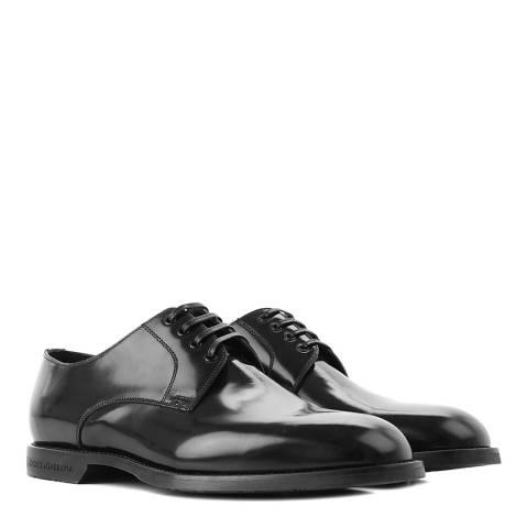 Dolce & Gabbana Black Lace Up Shoe