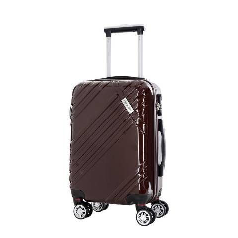 Travel One Coffee 8 Wheel Rosciano Suitcase 56cm