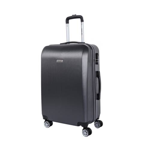 Travel One Grey 8 Wheel Walton Suitcase 66cm
