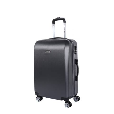 Travel One Grey 8 Wheel Walton Suitcase 56cm