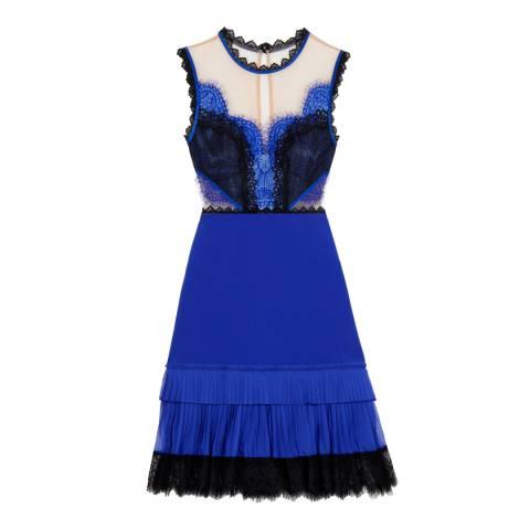 Three Floor Blue/Nude Summer Glaze Dress