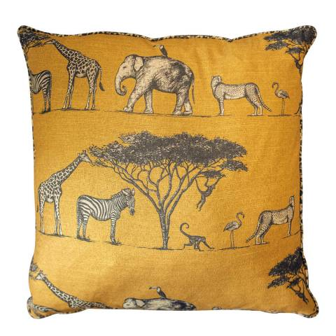 Gallery Ochre Massai Cushion 60x60cm