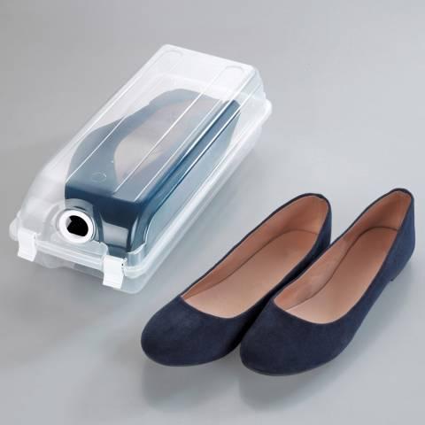 Wenko Set of 6 Small Shoe Boxes
