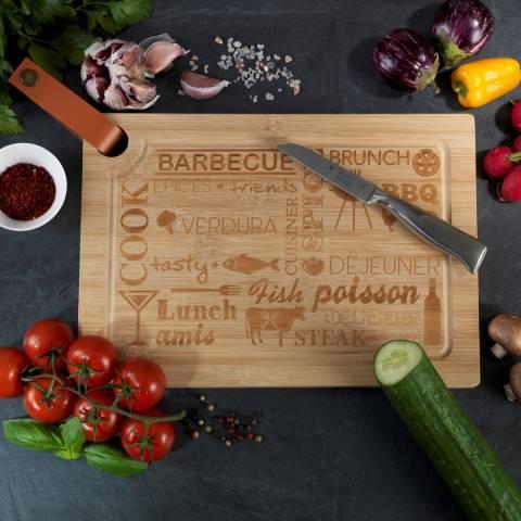 Wenko Bamboo Steak Board, 33x23cm
