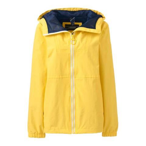 Lands End Bright Lemon Squall Lightweight Jacket