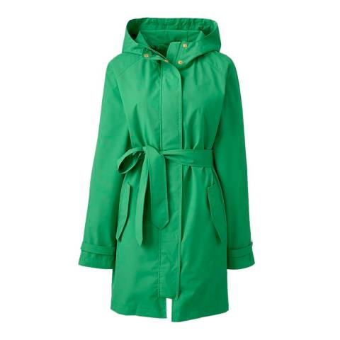 Lands End Grass Green Metro Rain Coat