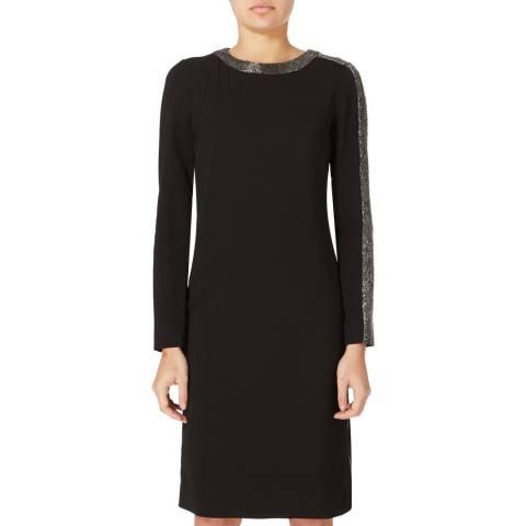 Amanda Wakeley Black Focus Techno Cady Dress