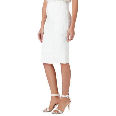 Amanda Wakeley Ecru Harmony Soft Tailored Skirt