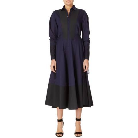 Amanda Wakeley Midnight Muse Cotton Shirt Dress