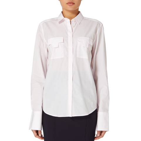 Amanda Wakeley Light Pink Pocket Cotton Shirt