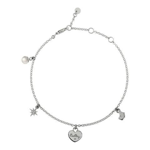 Radley Silver Multi-Charm Bracelet