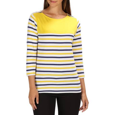 Regatta Yellow Stripe Pandara T-Shirt